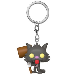 Simpsons Scratchy Funko Pop! Keychain