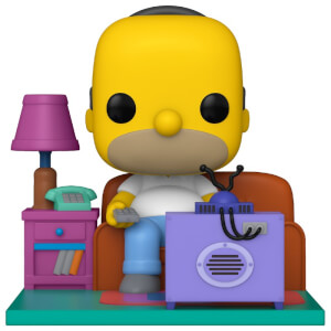 Figurine Pop! Deluxe Homer Regardant Télévision