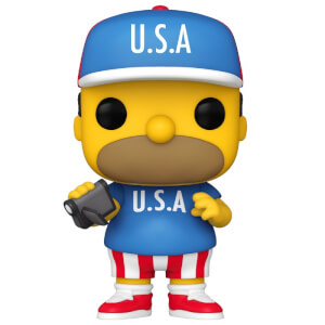 Figurine Pop! Homer USA - Les Simpson