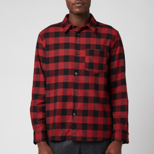 A.P.C. Men's John Overshirt - Red