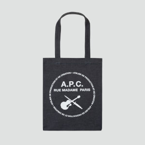 A.P.C. Men's Guitare Poignard Tote Bag - Indigo