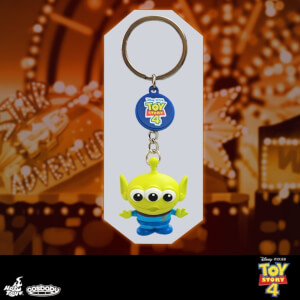 Hot Toys Cosbaby Toy Story Alien Keychain