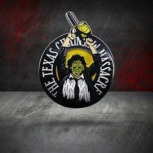 Texas Chainsaw Massacre Limited Edition Pin Badge