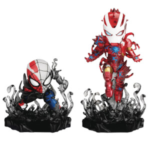 Beast Kingdom Marvel MEA-018SP Maximum Venom Special PX Figure 2-Pack - SDCC Exclusive