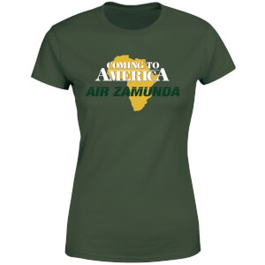 Coming to America Air Zamunda Women's T-Shirt - Forest Green