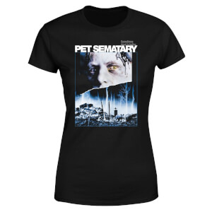 T-shirt Pet Semetary Sometimes Dead Is Better - Noir - Femme