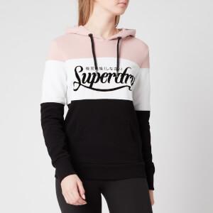 Superdry Women's Colour Block Entry Hoody - Black