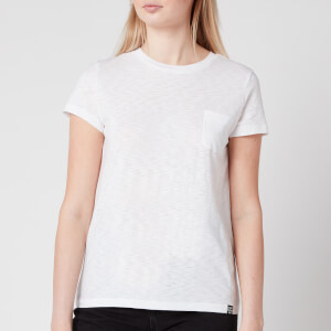 Superdry Women's Orange Label Crew Neck T-Shirt - White