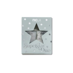 NCLA Beauty Superstar Top and Base Nail Polish Duo 2 x 13.3ml (Worth £28.00)