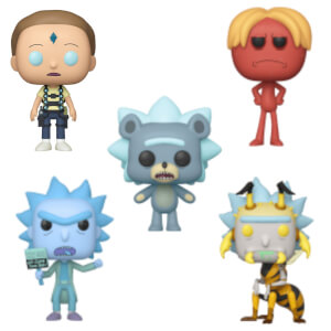 Rick and Morty Season 4 Funko Pop! Vinyl Bundle