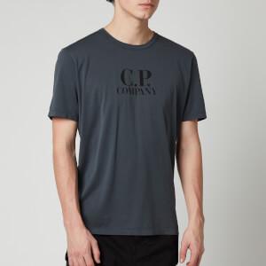 C.P. Company Men's Chest Logo T-Shirt - Dark Fog Grey