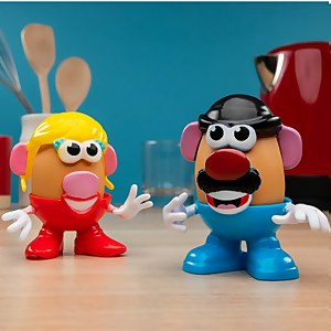 Mr and Mrs Potato Head Egg Cup Set
