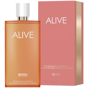 HUGO BOSS Women's Alive Perfumed Bath and Shower Gel 200ml