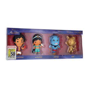 Disney Aladdin 3D Figural Magnet 4-Pack - SDCC 2019 Exclusive