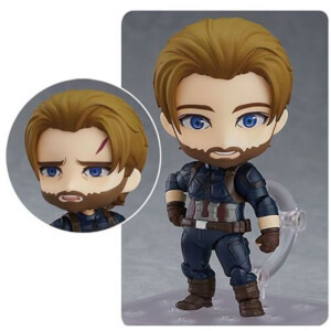 Avengers: Infinity War Capt. America Nendoroid Action Figure