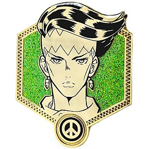 Jojo's Bizarre Adventure Golden Rohan Enamel Pin