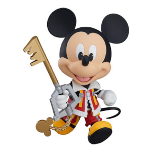 Kingdom Hearts 2 King Mickey Nendoroid Action Figure