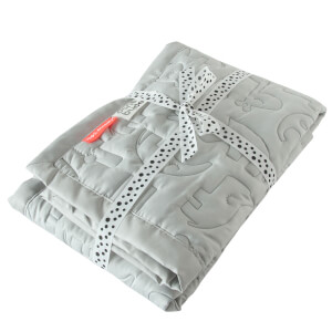Done by Deer Contour Quilt - Light Grey