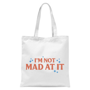 Demi Donnelly I'm Not Mad At It Tote Bag - White
