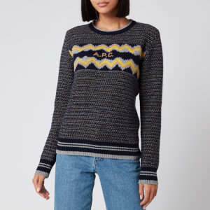 A.P.C. Women's Adele Jumper - Dark Navy