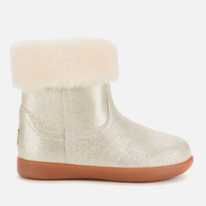 UGG Toddlers' Jorie II Metallic Suede Boots - Gold