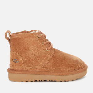 UGG Toddlers' Neumel Suede Boots - Chestnut