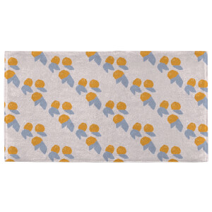 Hand Towels Orange Pattern Hand Towel