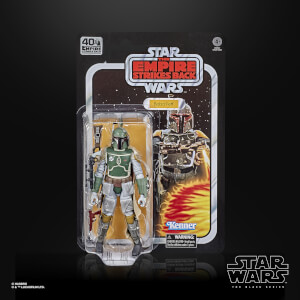 Hasbro The Black Series Star Wars 40th Anniversary Empire Strikes Back Boba Fett Action Figure