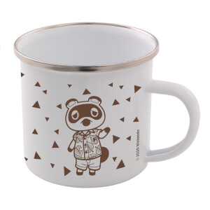 Tom Nook Enamel Mug - Animal Crossing: New Horizons Pastel Collection