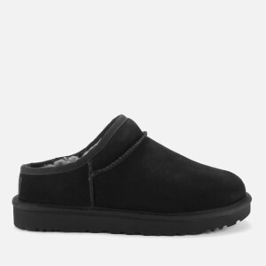 UGG Women's Classic Sheepskin Slippers - Black
