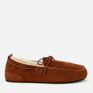 Superdry Men's Mocassin Slippers - Tan