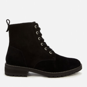 Superdry Women's Commando Lace Up Boots - Black