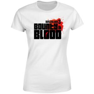 Borderlands 3 Bounty Of Blood Logo Women's T-Shirt - White