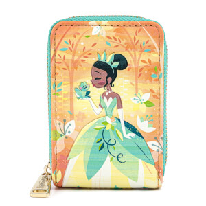 Loungefly Disney Princess And The Frog Tiana Accordian Wallet