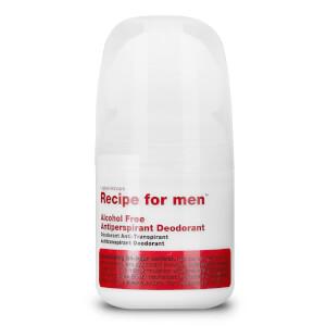 Recipe for men Alcohol Free Antiperspirant Deodorant