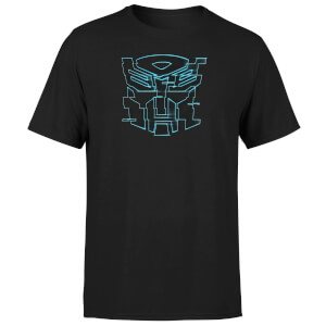T-Shirt Transformers Autobot Glitch - Nero - Unisex