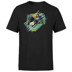 Transformers Bumble Bee Glitch Unisex T-Shirt - Black
