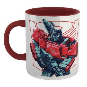 Transformers Sideswipe Mug - White/Burgundy