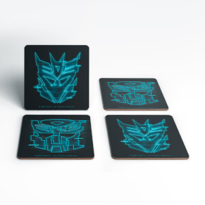 Transformers Glitch Coaster Set