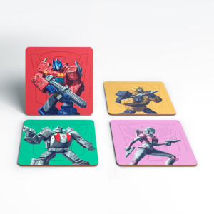 Transformers Roll Out Coaster Set