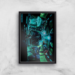 Poster Fine Art Transformers Decepticons A2