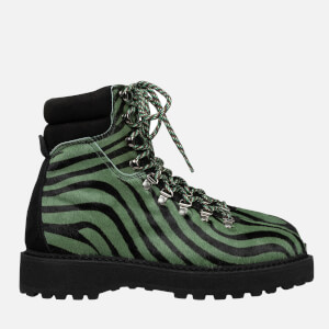 Diemme Women's Monfumo Haircalf Hiking Style Boots - Zebra