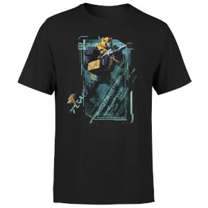 T-shirt Transformers Bumble Bee Tech - Noir - Unisexe