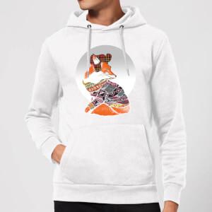 Ikiiki Winter Fox Hoodie - White
