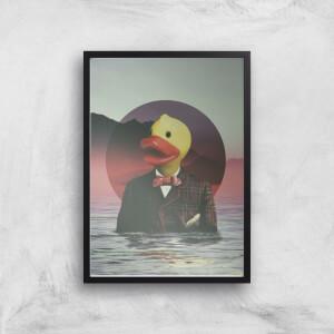 Ikiiki Rubber Ducky Giclee Art Print