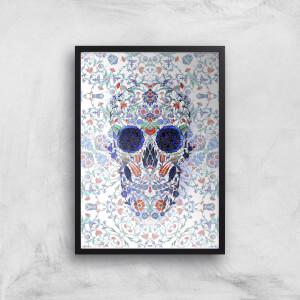 Ikiiki Chini Skull Giclee Art Print