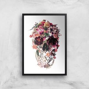 Ikiiki Bird Skull Giclee Art Print