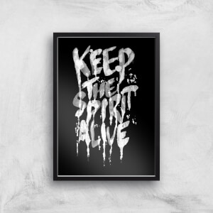Ikiiki Keep The Spirit Alive Giclee Art Print