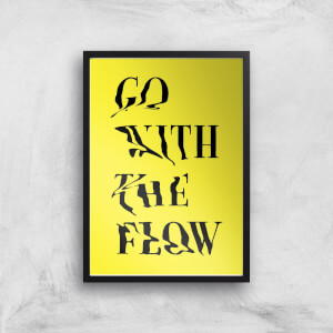 Ikiiki Go With The Flow Giclee Art Print