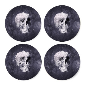 Ikiiki Decay Skull Coaster Set